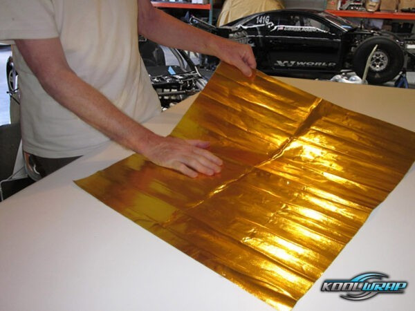 Kool Wrap Gold Sheet 3