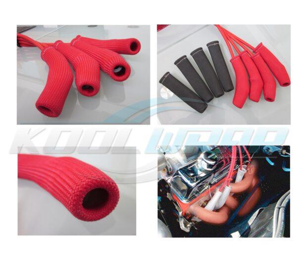 Kool Wrap Spark Boot shields red wm