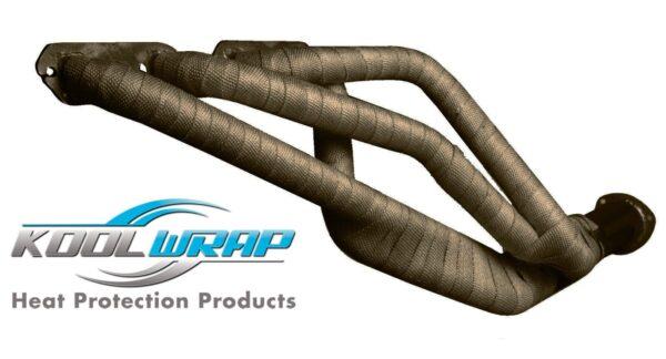 Kool Wrap Headers Cropped Titanium Exhaust Wrap 4.5m x 25mm