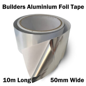 Kool Wrap Aluminium Foil Tape 10m x 50mm x 30um