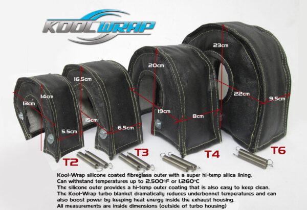 Black Kool Wrap Turbo Blanket dimensions v3 smlr