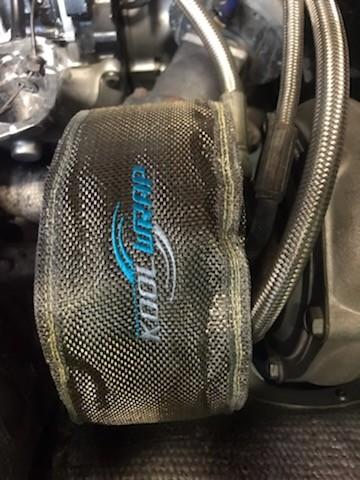 Kool Wrap Turbo Blanket Close up