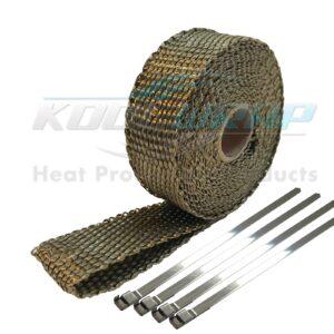 Kool Wrap Titanium Exhaust Wrap 4.5m x 25mm 1400 x 1400 v2