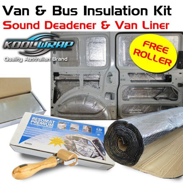 Kool Wrap Sound & Heat Insulation Kit suit Van or 4WD