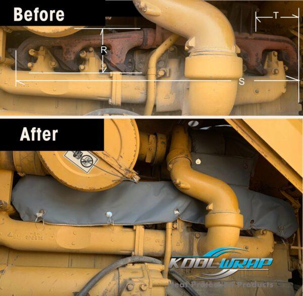 Kool Wrap Exhaust manifold Covers