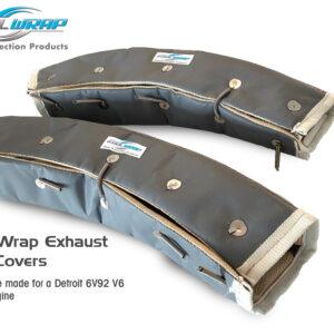 Kool Wrap Exhaust Pipe covers 6V92 Detroit