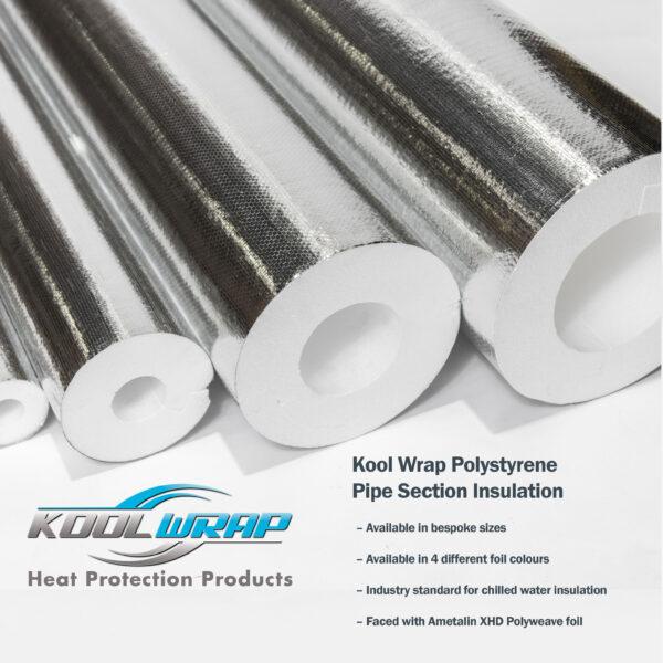Kool Wrap Polystyrene Pipe Section